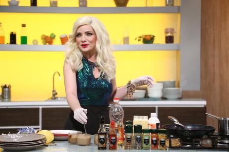 """Gina Felea și-a făcut apariția în bucătăria """"Chefi la cuțite""""! Actrița Anca Dinicu a pregătit o surpriză chefilor"""