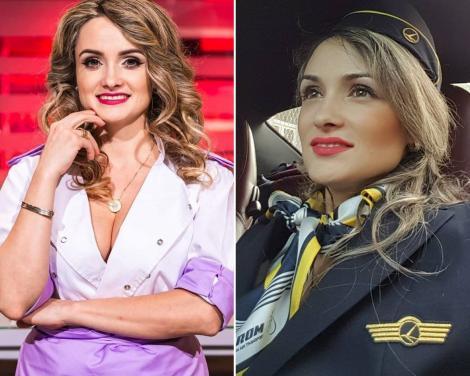 Amalia Bellantoni, colaj foto cu imagini de cand era stewardesa si concurenta la chefi la cutite