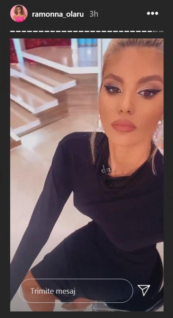 Ramona Olaru poartă machiajul perfect
