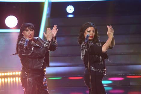 Romică Țociu și Adriana Trandafir se transformă în Azucar Moreno și aduc cel mai ''caliente'' duet pe scena Te Cunosc de Undeva