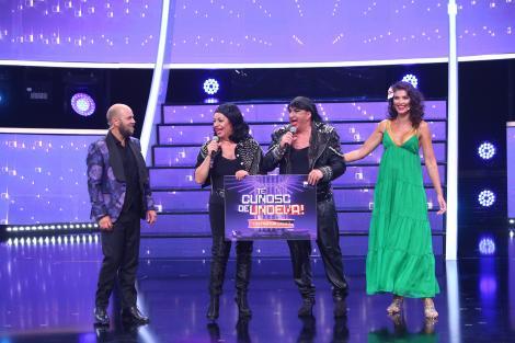 Romică Țociu și Adriana Trandafir sunt marii câștigători ai celei de-a șaptea ediții a sezonului 15 Te Cunosc de Undeva!