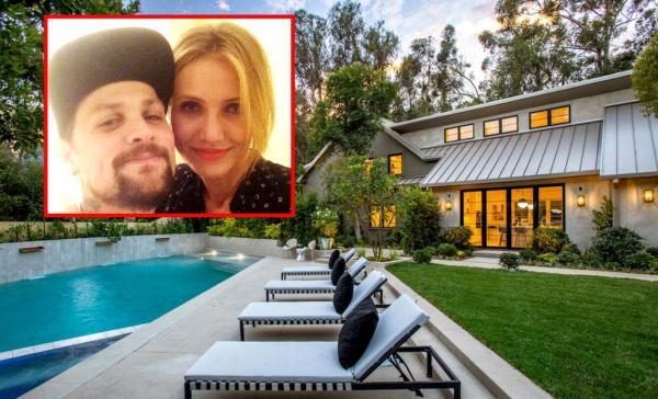 Cameron Diaz și Benji Madden și-au cumpărat o casă de 14,7 milioane de dolari