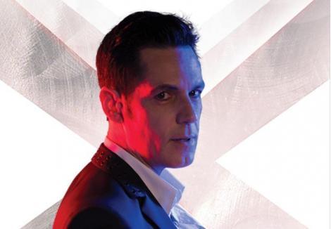 Ștefan Bănică, la filmările pentru promo-ul sezonului 9 X Factor