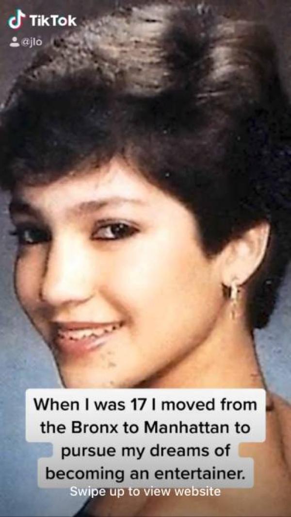 Cum arăta Jennifer Lopez la 17 ani