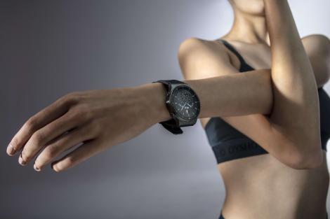 Inspiră, expiră.Tips&Tricks pentru o respirație corectă disponibile pe ecranul unui smartwatch inteligent