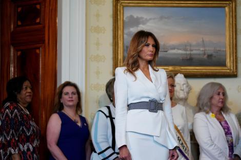 Melania Trump, sotia lui Donald