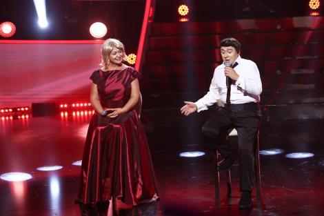 Monica Anghel și Marcel Pavel s-au transformat în Robbie Williams și Jane Horrocks la Te Cunosc de Undeva