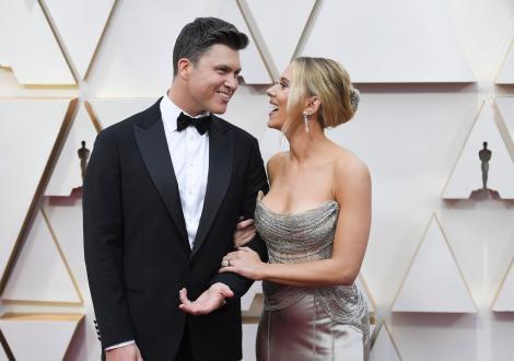 Scarlett Johansson s-a căsătorit cu Colin Jost. Cine este cel de-al treilea soț al actriței