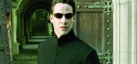 """Keanu Reeves interpretează rolul lui Neo, personajul principal din trilogia """"Matrix"""""""