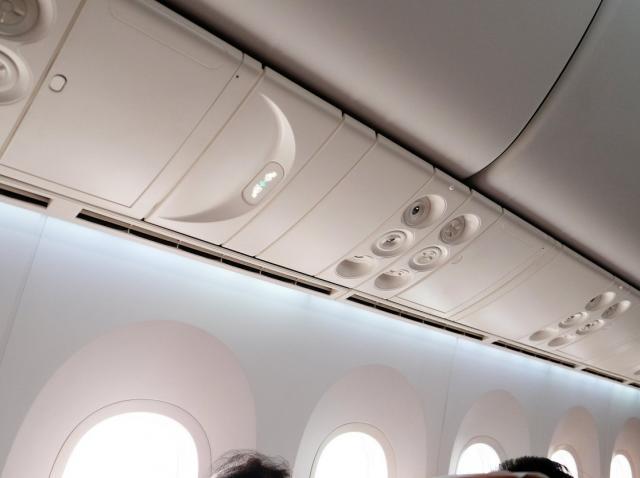 Găurile de aerisire de la avion, printre cele mai murdare obiecte