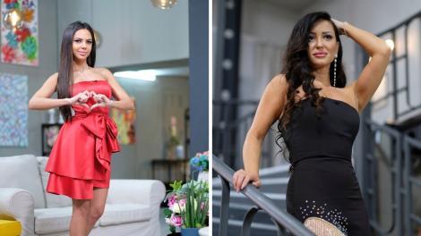 Stefania si Claudia, pozate inainte de gala si de cearta lor