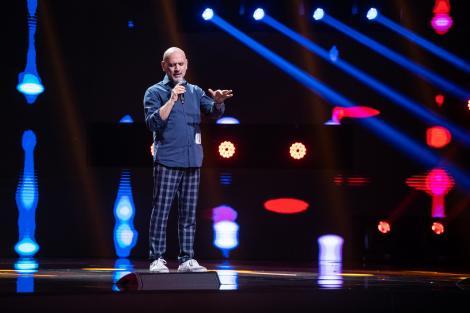 """Mario Rosini, pe scena X Factor a cântat """"L'infinità"""". Loredana: """"Inima mea zboară"""""""