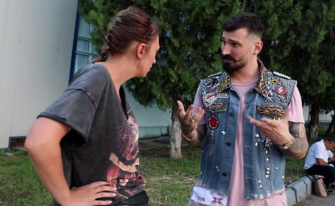 Chriss Casper și Arthur Horeanu, întâlnire cu Ilona Brezoianu. Ce i-au povestit înainte de a urca pe scena X Factor