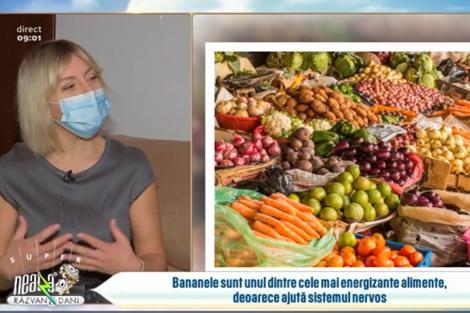Alimentele care ne dau energie pentru întreaga zi