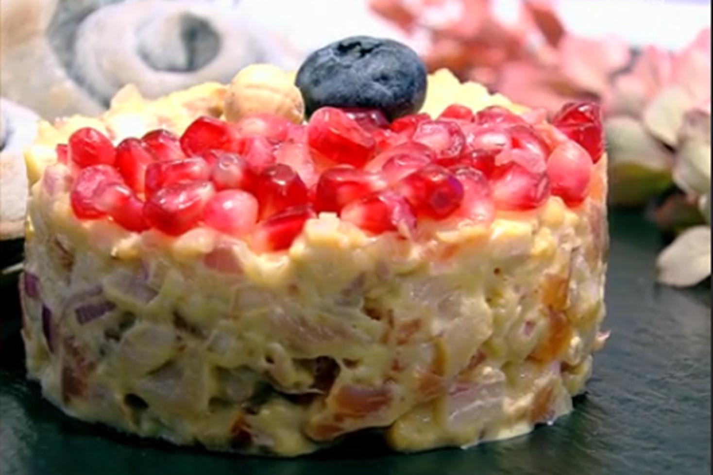 """Rețetă de salată """"Trio de pește afumat"""", gătită de Vlăduț la Neatza cu Răzvan şi Dani"""