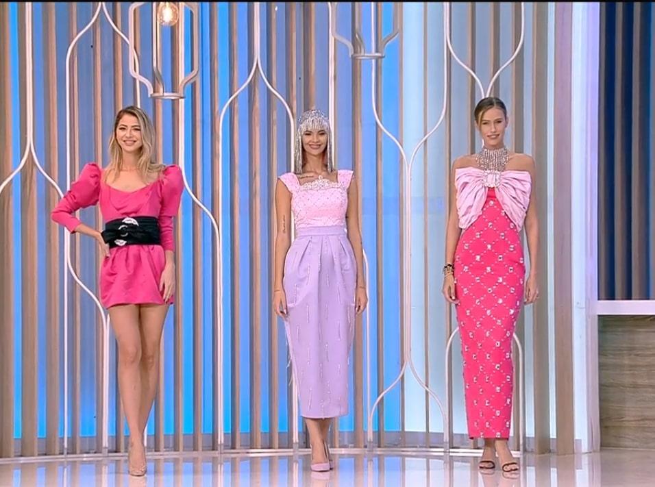 Ramona Olaru și Gabriela Prisăcariu, prezentare de modă în direct la Neatza cu Răzvan și Dani