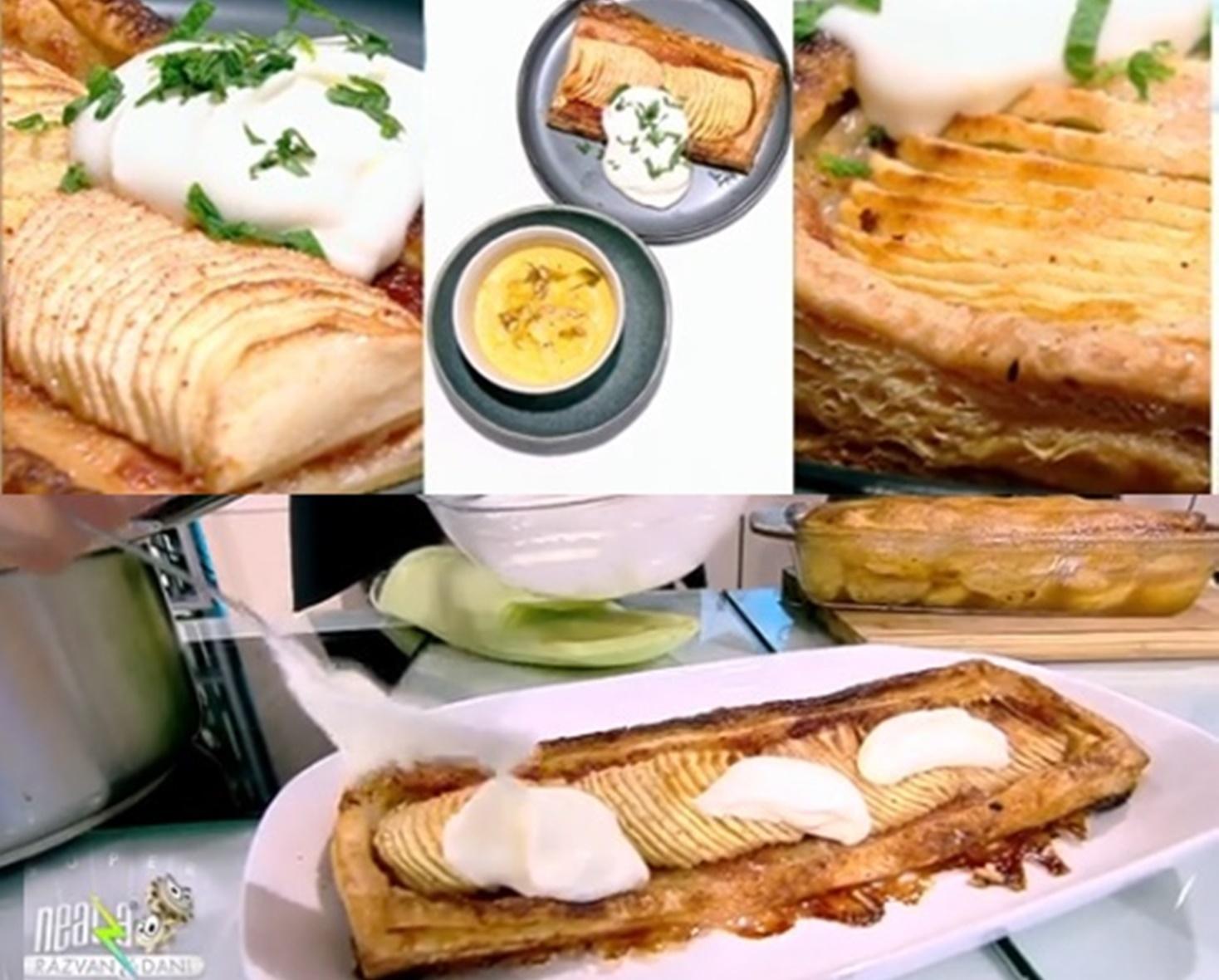 Rețete de tarte cu mere, gătite de chef Nicolai Tand la Neatza cu Răzvan și Dani