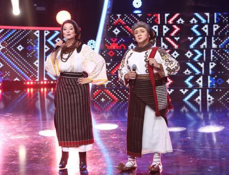 Te cunosc de undeva 2020, editia 10. Monica Anghel și Marcel Pavel au făcut show cu personajele Sofia Vicoveanca și Andreea Marin