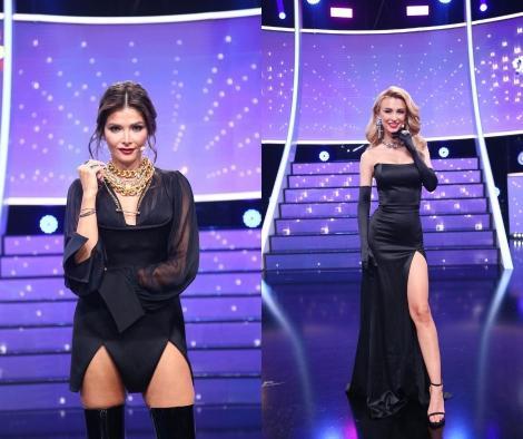 """Alina Pușcaș și Andreea Bălan, apariții sezaționale în gala 10 a show-ului """"Te cunosc de undeva""""! Cum au arătat cele două"""