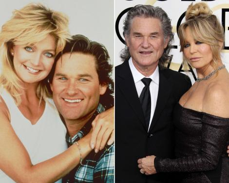 Unul din cele mai longevive cupluri de la Hollywood. Povestea de iubire dintre Kurt Russell și Goldie Hawn, ruptă din filme