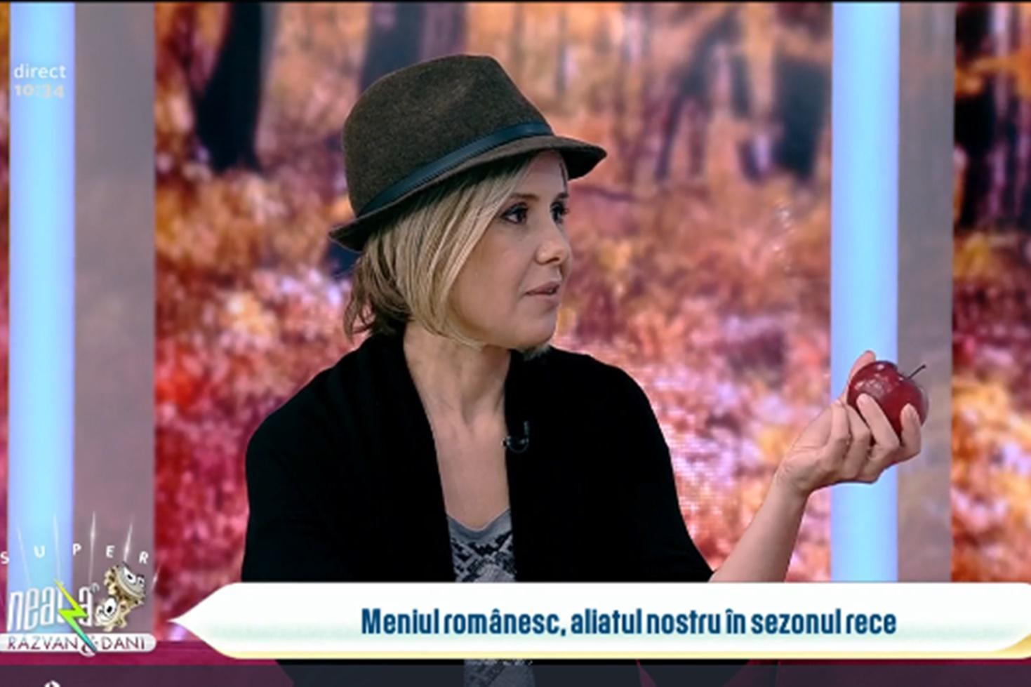 Despre nutriție și alimente benefice în sezonul rece cu Mihaela Bilic, medic nutriționist