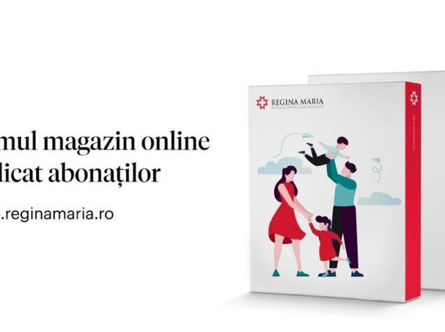 Rețeaua de sănătate REGINA MARIA lansează prima platformă de e-commerce dedicată abonaților