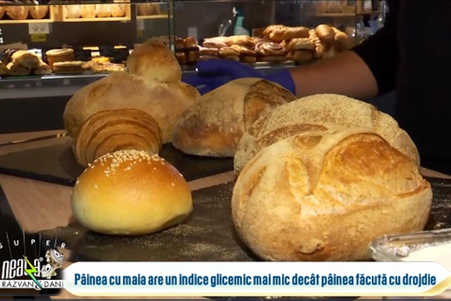 Pâinea cu maia este considerată cea mai sănătoasă și hrănitoare