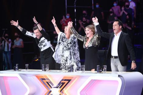 """Ultima ediție de audiții îi ține în șah pe jurații X Factor:  """"Nu pot să îi dau Da!"""""""