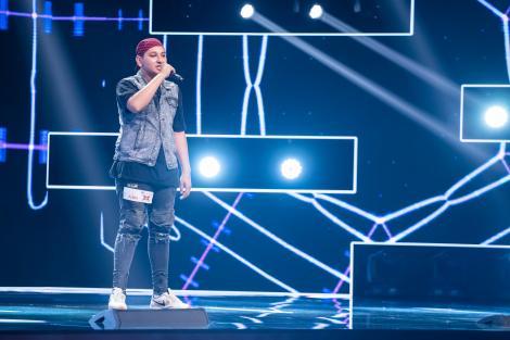 """X Factor 2020. Liviu Miluț, un rapper în devenire pe scena X Factor. """"Ești un băiat puternic"""""""