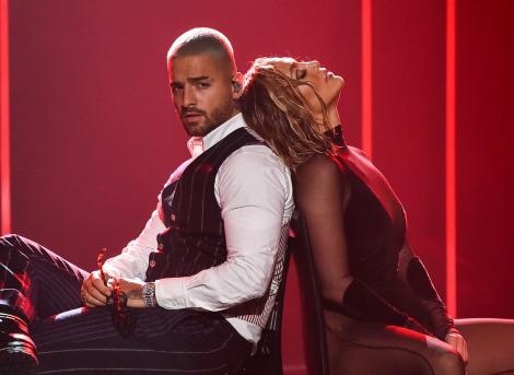 Maluma alături de J LO la American Music Awards