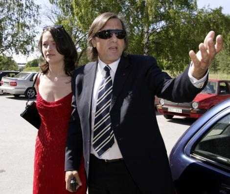 Amalia si Ilie Nastase, in 2002, cand formau un cuplu