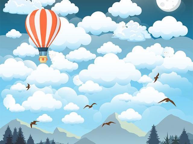 Reușești să găsești cele cinci oi care se ascund între nori? E provocarea momentului pe internet