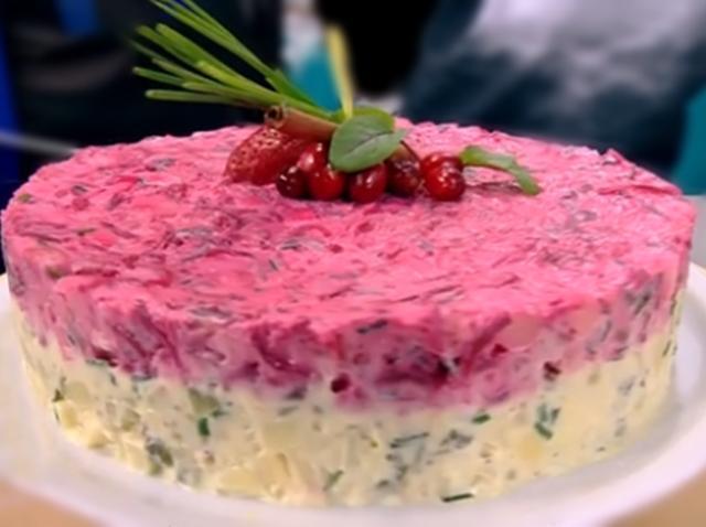 Salată aperitiv pentru mese festive