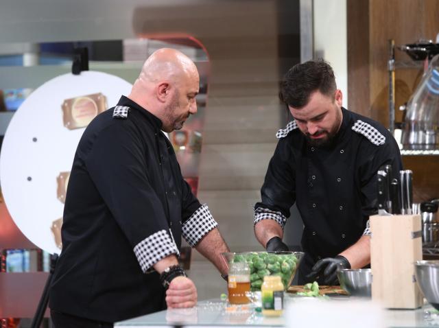Cătălin Rizea, alături de Cătălin Scărlătescu, la Chefi la Cuțite