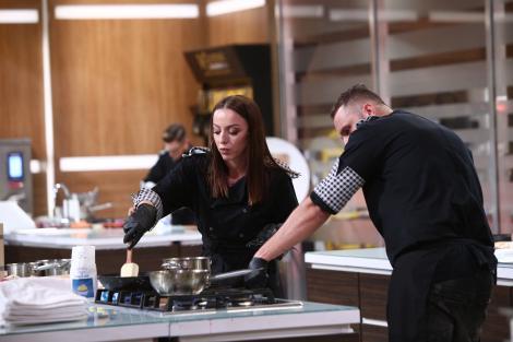 """Lavinia Ilcău și Paul Maxim în sezonul 8 """"Chefi la cuțite"""""""