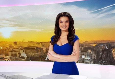 Olivia Paunescu, într-o ținută pe care puține prezentatoare de știri ar îndrăzni să o poarte