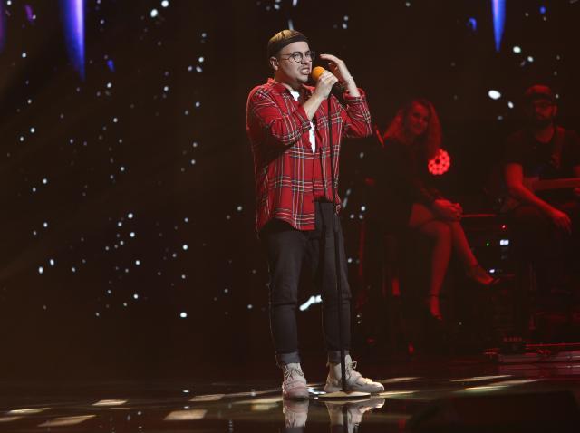 Robert Botezan, moment emoționant la X Factor