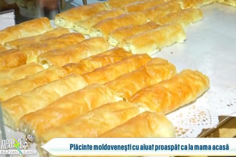Secretul plăcintelor moldovenești