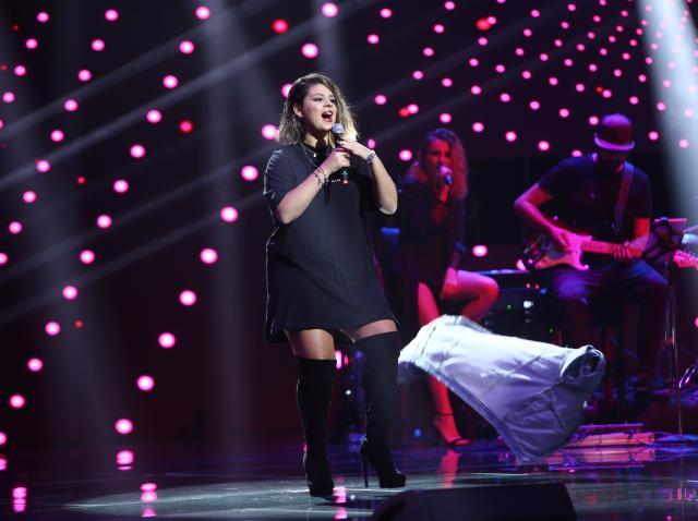 Martha vine din Italia și a pășit încrezătoare pe scena X Factor