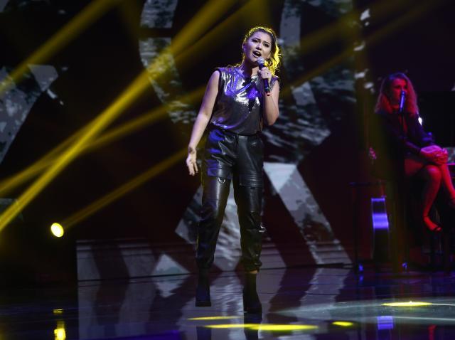 Andra Barangă, pe scena X Factor