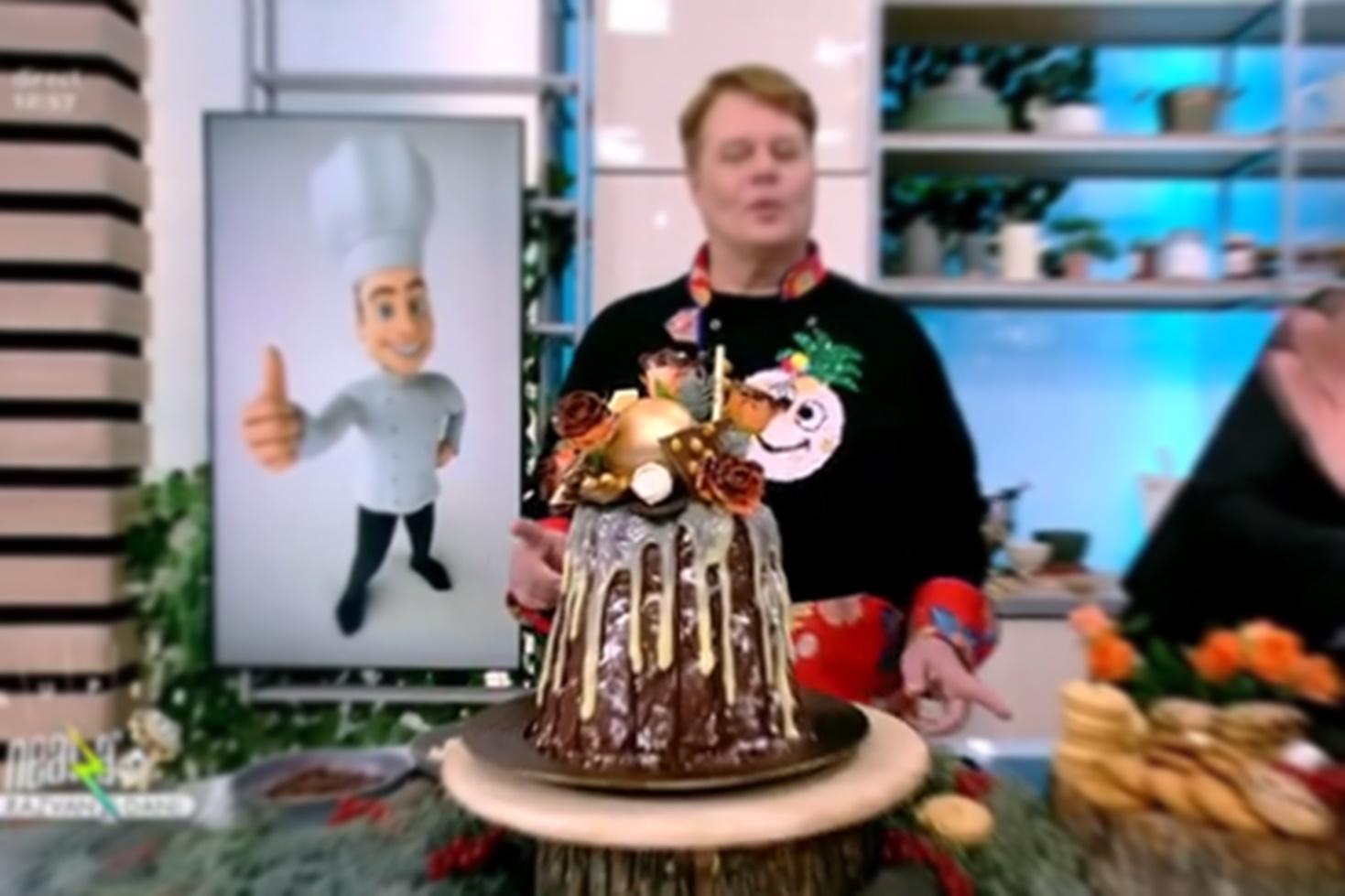 Rețetă de tort de biscuiți cu trei tipuri de ciocolată, gătită de Vlăduț la Neatza cu Răzvan și Dani