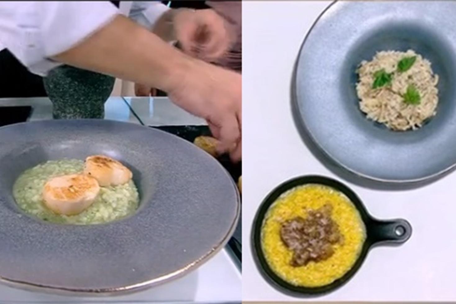 Trei rețete de risotto preparate de Nicolai Tand de la Neatza cu Răzvan şi Dani