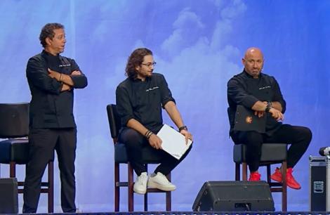"""S-au dat primele tunici la """"Chefi la cuțite""""! Ce concurenți au fost eliminați din bootcamp"""