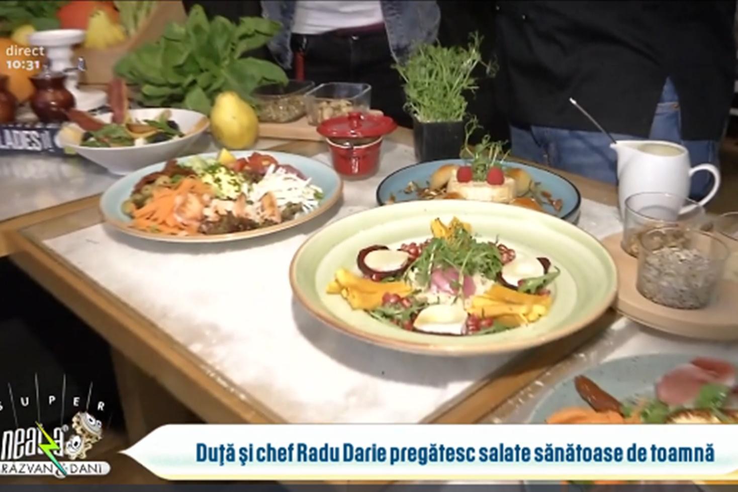 Idei de salate sănătoase și gustoase cu legume și fructe de toamnă