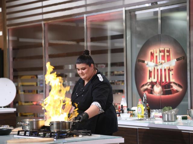 """Claudia Radu, concurentă în sezonul 8 al emisiunii """"Chefi la cuțite"""""""