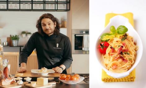 Cum face Florin Dumitrescu cea mai bună rețetă de paste carbonara din lume