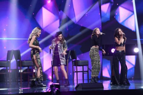 X Factor 2020, Semifinală. Tiny Tigers, semifinalistele lui Florin Ristei, au arătat cât de puternice sunt niște micuțe femei
