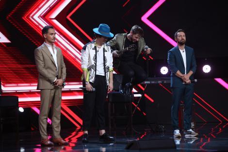Ștefan Bănică, Loredana, Delia și Florin Ristei și-au ales concurenții pentru finala X Factor Semifinala, lider de audiență!