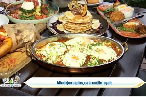 Idei de mic dejun copios ca la curțile regale, de la Chef Munti