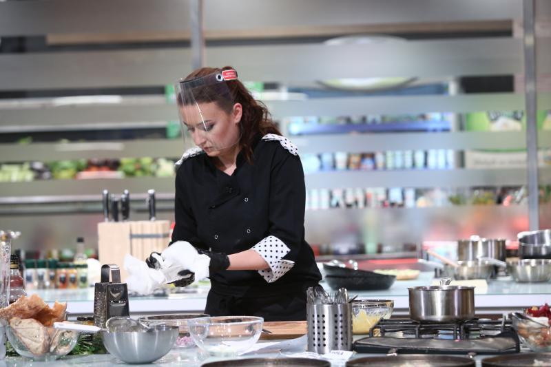 """Roxana Blenche în sezonul 8 """"Chefi la cuțite"""""""